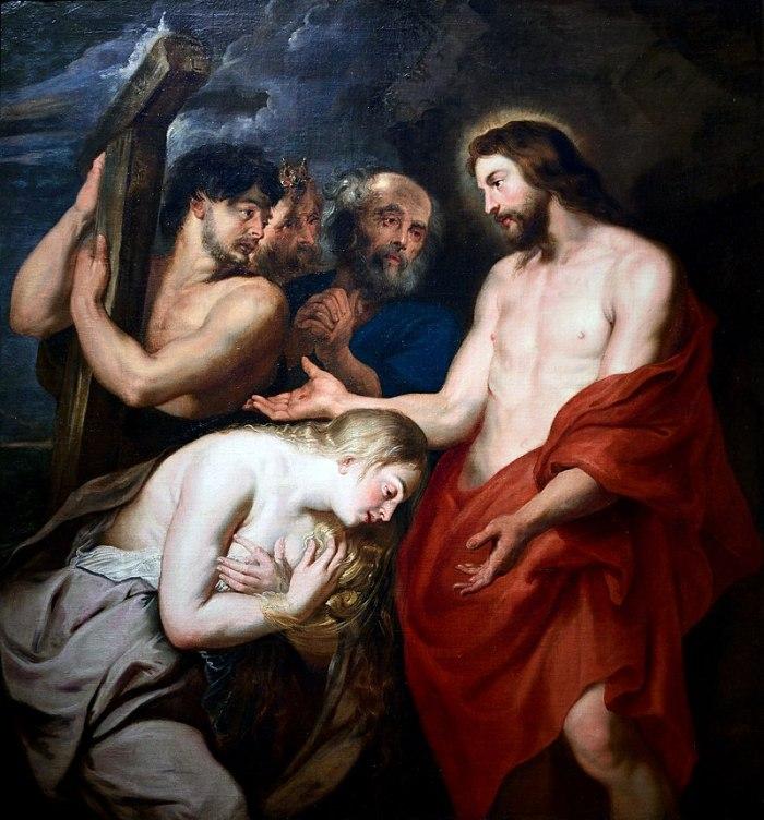 Rubens_Christ_et_la_pecheresse